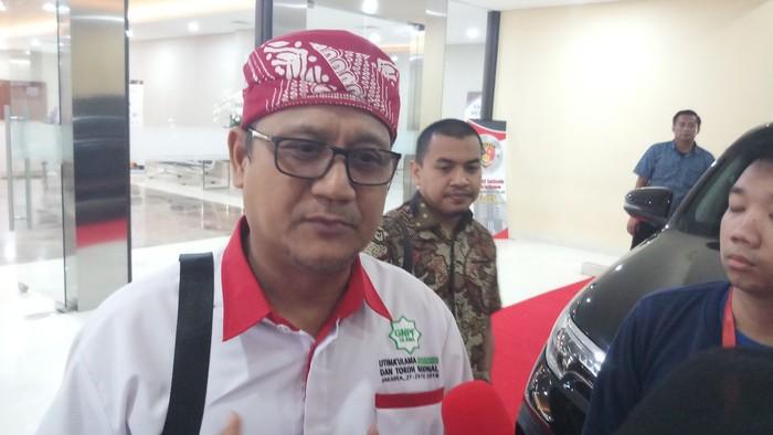 Sekjen GNPF Ulama Edy Mulyadi (Farih/detikcom)