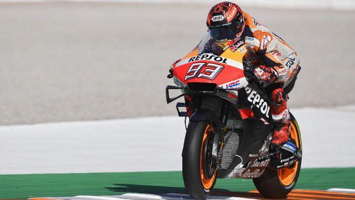 Marc Marquez finis ketujuh di hari kedua tes MotoGP Valencia. (Foto: Mirco Lazzari gp/Getty Images)