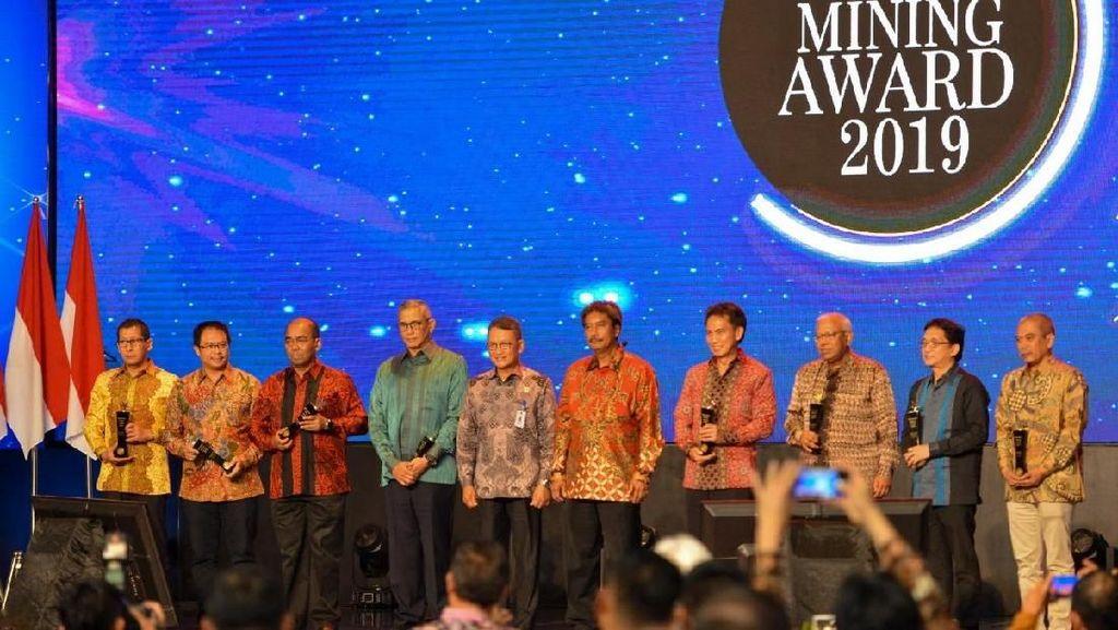 PT Timah, PTBA, dan Freeport Raih Penghargaan di IMA Award 2019