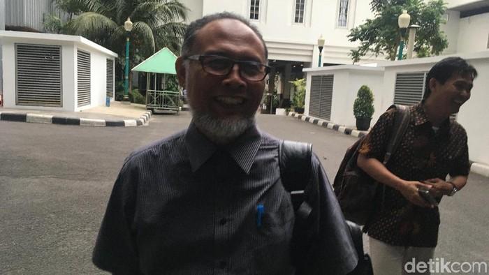 Foto: Ketua Tim Gubernur untuk Percepatan Pembangunan (TGUPP) Bidang Komite Pencegahan Korupsi, Bambang Widjojanto. (Arief-detikcom)