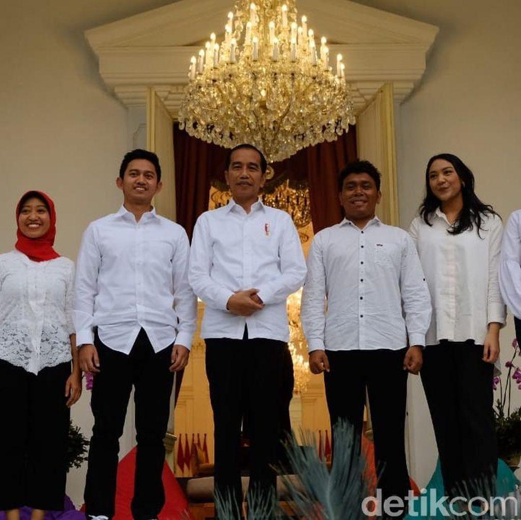 Pernyataan Lengkap Jokowi Saat Perkenalkan 7 Anak Muda Jadi Staf Khusus