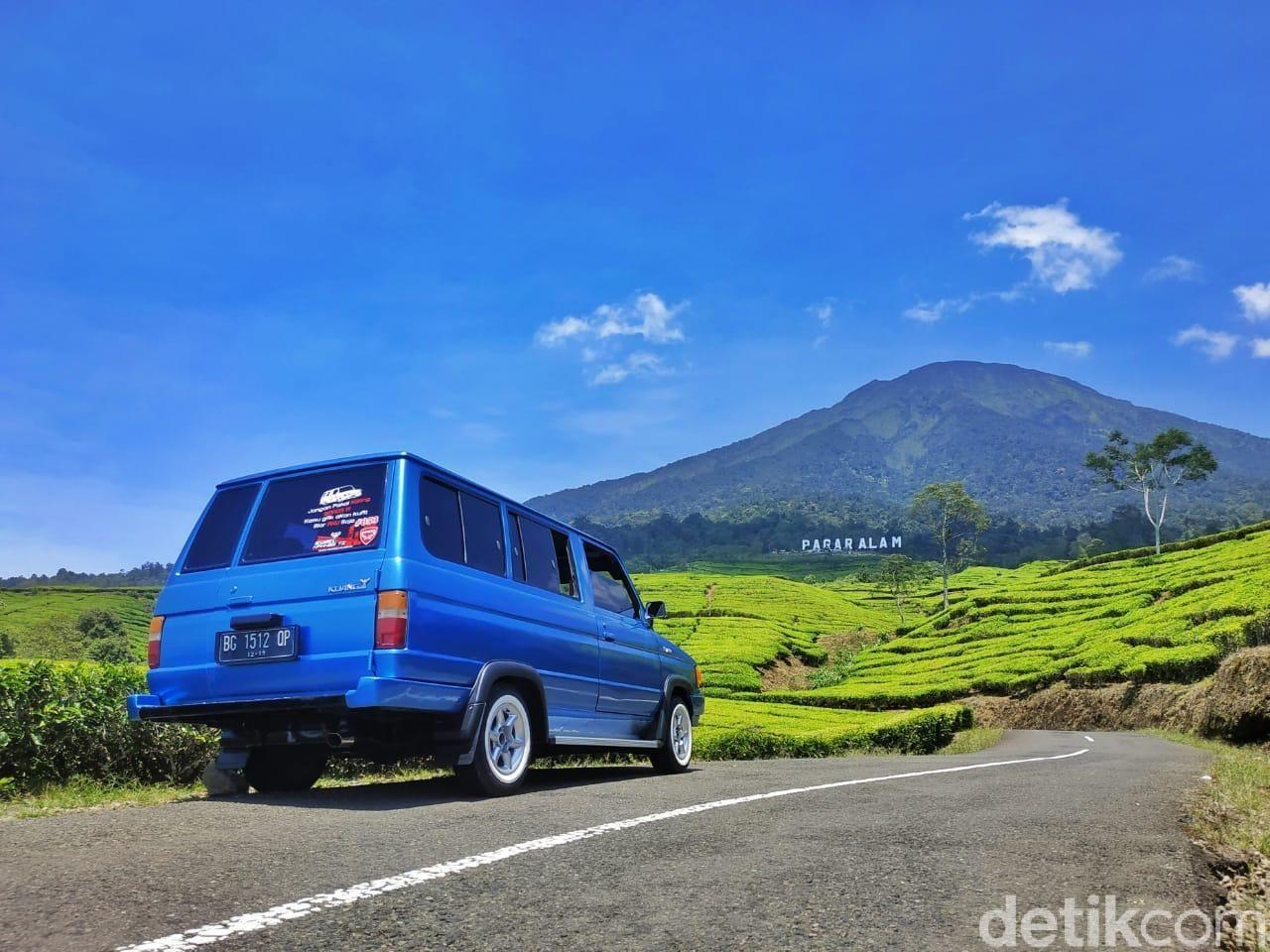 Kaki Gunung Dempo.