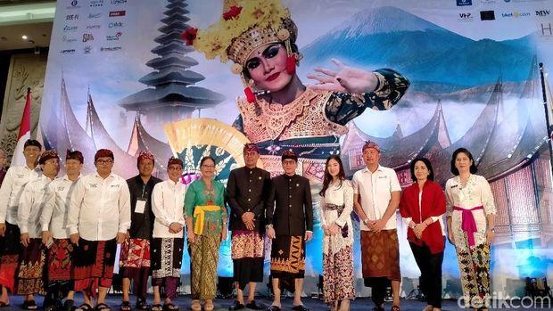 Di Bali, Menparekraf Wishnutama Sampaikan Strateginya