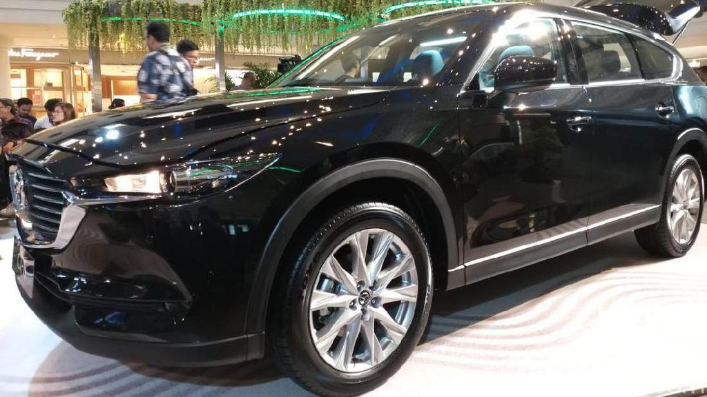 Mazda CX-8 Bukan Saingan Honda CR-V Cs
