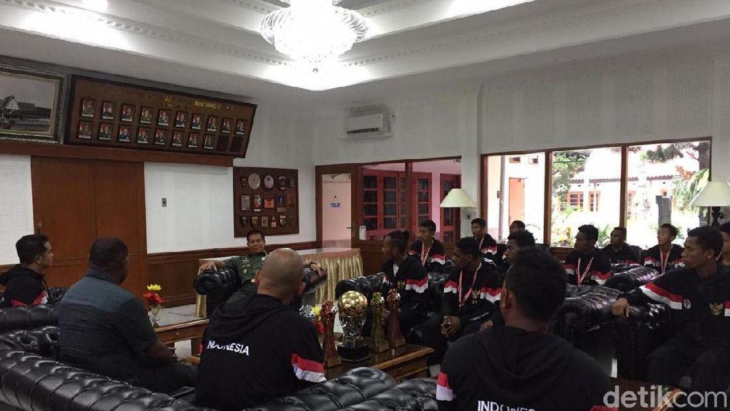 Sebelum ke Portugal, Timnas U-15 Latihan Dulu di Seskoad Bandung