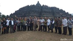 Komisi X DPR Beri Masukan Wisata di Candi Borobudur