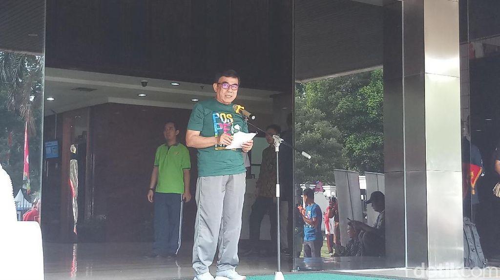 Buka Pospenas 2019, Menag: Santri Wahana Jaga Jati Diri Pesantren