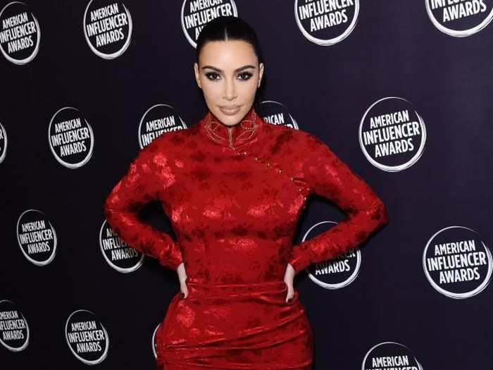 HOLLYWOOD, CALIFORNIA - NOVEMBER 18: Kim Kardashian attends the 2nd Annual American Influencer Awards at Dolby Theatre on November 18, 2019 in Hollywood, California. (Photo by Presley Ann/Getty Images for American Influencer Awards )