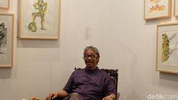 Gelar Pameran Seni, Butet Kartaredjasa Beri Makna di Usia 58 Tahun