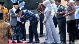 Kunker ke Cirebon, Maruf Amin Disambut Ridwan Kamil