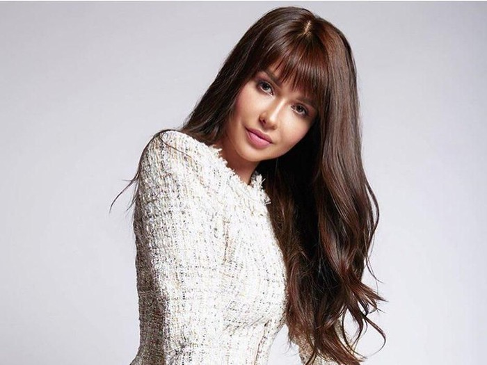 Model Playboy Maria Liman tolak tawaran masuk parpol. Foto: Instagram