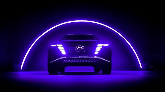 Tampang Hyundai Tucson Hybrid di Masa Depan
