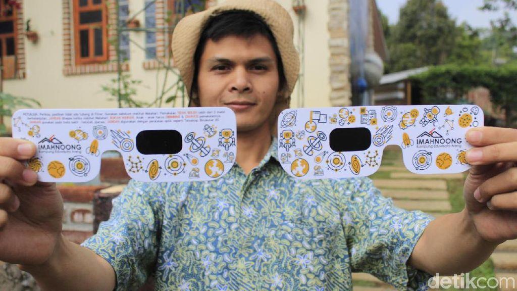 50 Ribu Kacamata Disiapkan Buat Nonton Gerhana Matahari Cincin