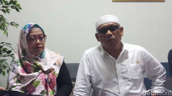 Ketua Dewan Pembina Korlabi Eggi Sudjana (Foto: Farih Maulana/detikcom)