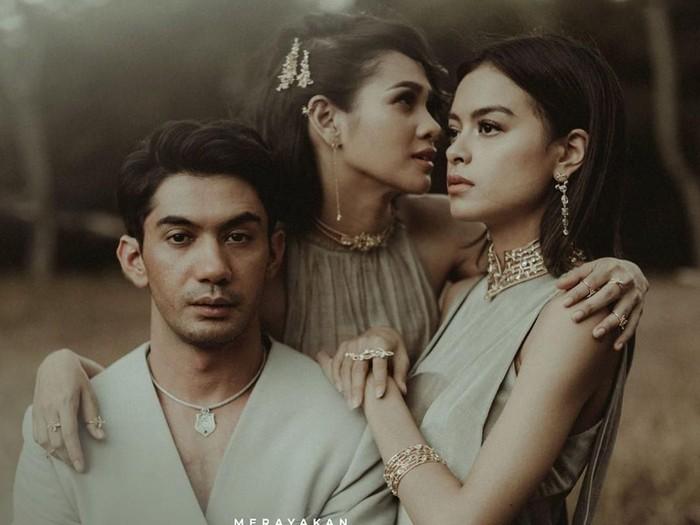 Karakter Reza Rahadian, Eva Celia dan Andien Aisyah untuk perhiasan. Foto: Instagram @tuloladesigns
