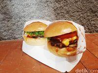 Anya Geraldine Luncurkan Burger 'Tahan Banting' dengan Patty Tebal