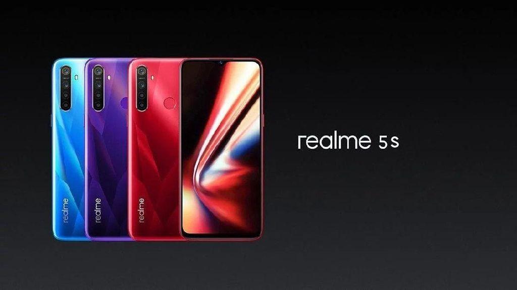 Realme 5s Dirilis, Kamera 48 Megapixel di Harga Rp 2 Juta