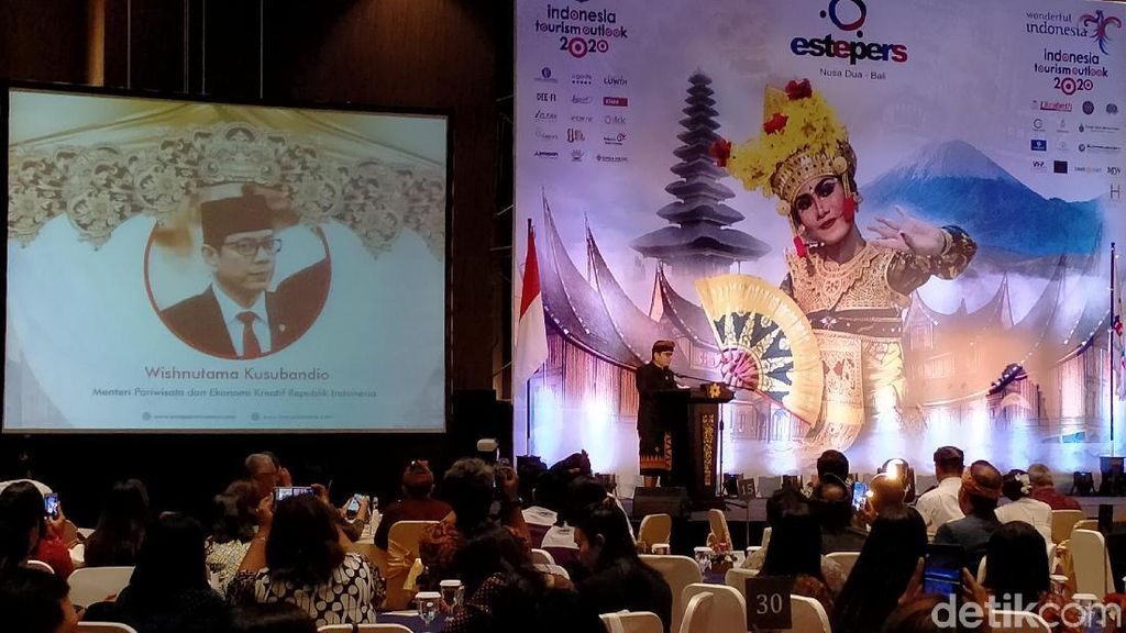 Di Bali, Menparekraf Wishnutama Beberkan Strateginya