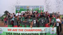 Dukung Liga Desa, Mendes Minta Gunakan Dana Desa untuk Sarana Olahraga