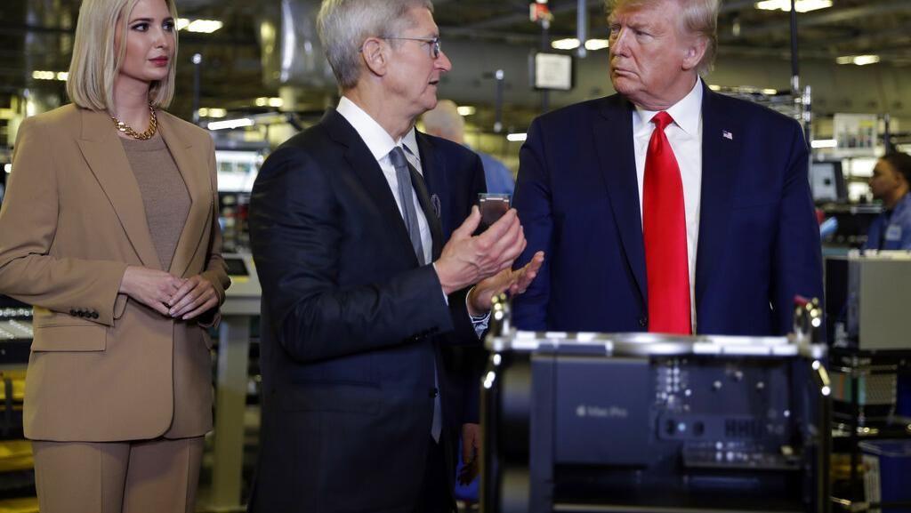 Gencarkan Made In America, Donald Trump Sambangi Pabrik Apple