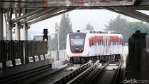 Sebulan Operasi LRT Jakarta Masih Sepi