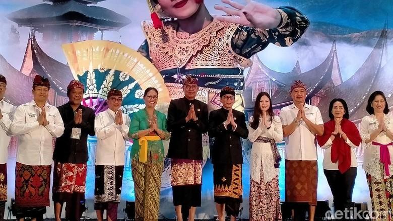 Bali Jadi Kunjungan Kerja Pertama Wishnutama dan Angela Tanoe. (Foto: Afif Farhan/detikcom)