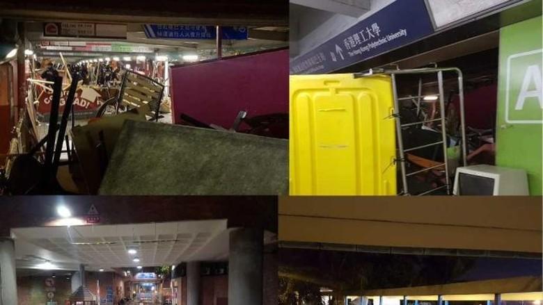 Kerusuhan Masuk Kampus, Banyak Mahasiswa Indonesia di Hong Kong Pulang