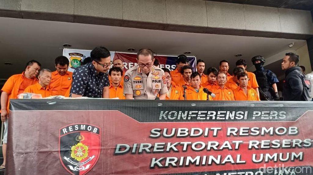 Polisi Bongkar Judi Koprok di Jaksel-Jakbar, 23 Tersangka Ditangkap
