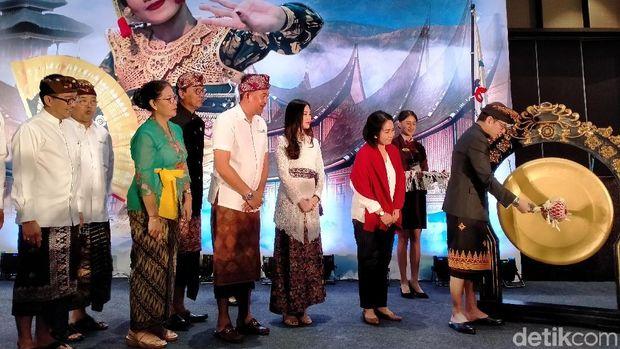 Bali Jadi Kunjungan Kerja Pertama Wishnutama dan Angela Tanoe