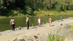 Seorang Anak Dilaporkan Hilang Saat Berenang di Sungai Brantas Blitar