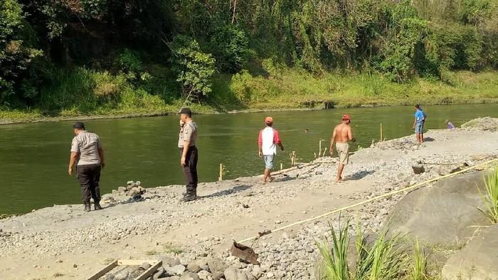 Lokasi tempat bocah dilaporkan hilang terbawa arus/Foto: Istimewa