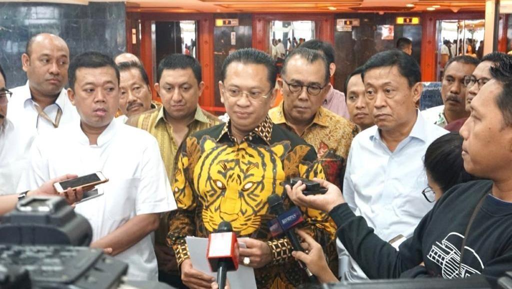 Jika Terpilih Jadi Ketum, Bamsoet Jamin Golkar Tetap All Out Dukung Jokowi