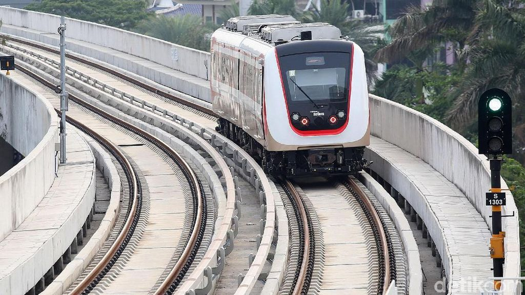 LRT Jakarta Resmi Beroperasi Mulai 1 Desember, Tiketnya Rp 5.000
