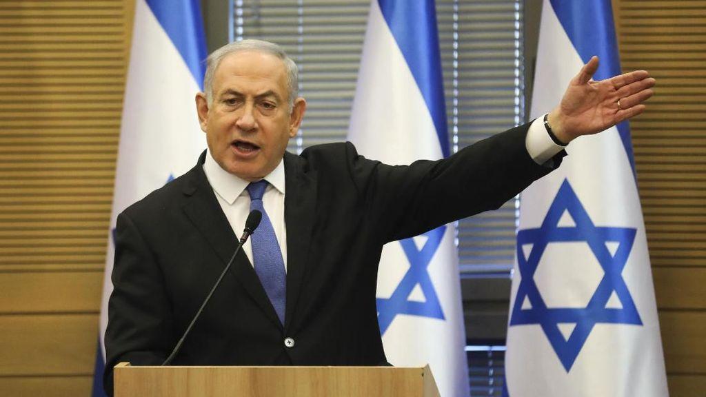 Dijerat 3 Dakwaan Korupsi, PM Israel Benjamin Netanyahu Melawan