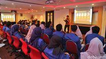 Kuliah Dadakan dengan Mahasiswa ITS di Kantor Telkomsel Berlangsung Gayeng