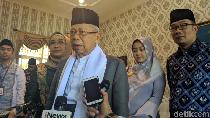 Pimpinan KPK Ajukan Judicial Review UU KPK, Maruf Amin: Itu Hak Masyarakat