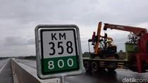 Pengendara Paksa Melintas di Tol Palembang-Kayu Agung yang Belum Dibuka Umum