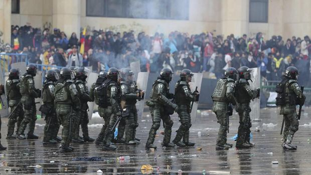 Krisis Guncang Benua Merah Lagi, Kali Ini Giliran Kolombia