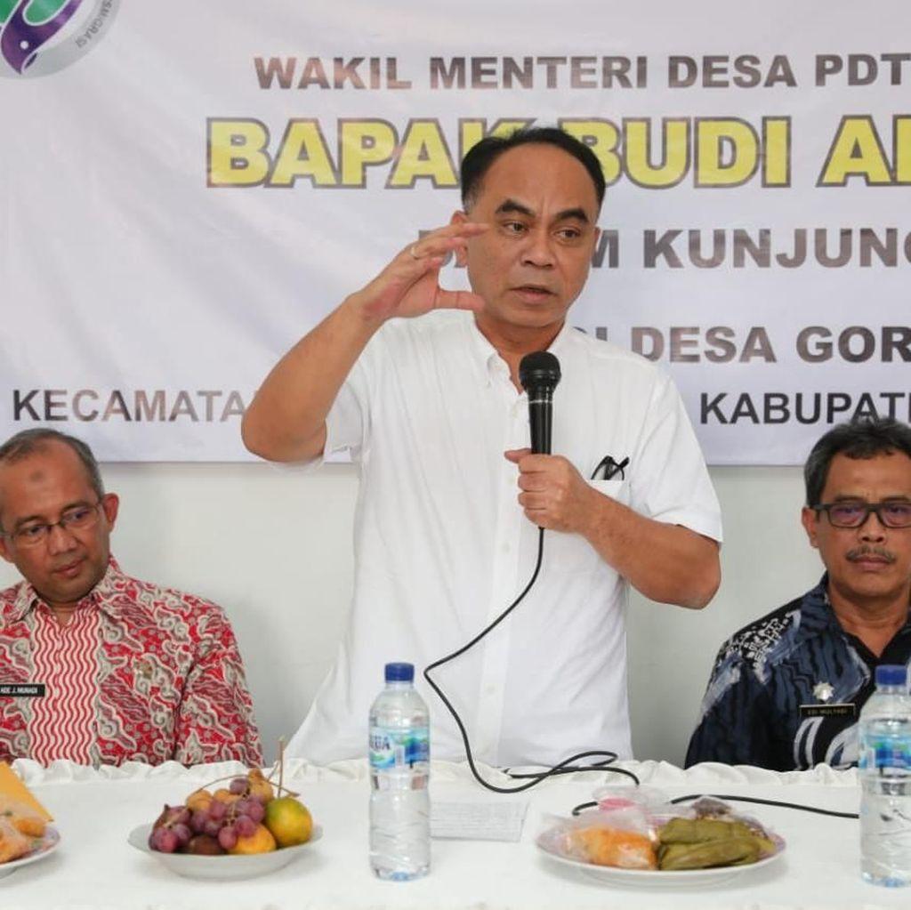 Dalam 5 Tahun, Wamendes Harap Tak Ada Desa Tertinggal Dekat Jakarta