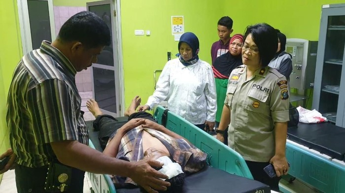 Lilik Kurniawan (48) Kepling IX, Kelurahan Pahlawan, Kecamatan Binjai Utara, Kota Binjai, Sumatera Utara (Sumut) yang dianiaya pakai martil. (Foto: Dok. Istimewa)