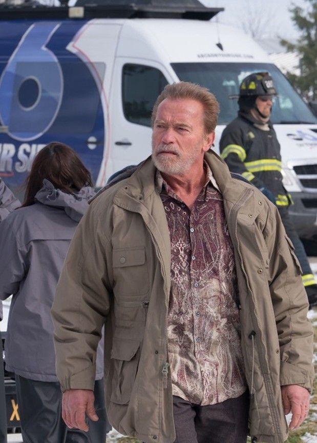 Arnold Schwarzenegger di Aftermath