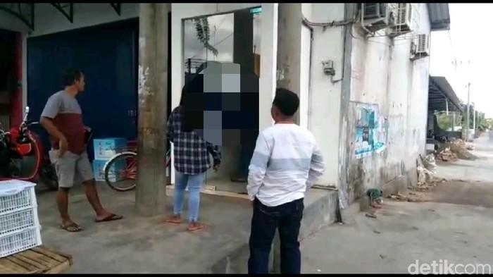 Viral video pria onani di ATM. Foto: Ardian Fanani