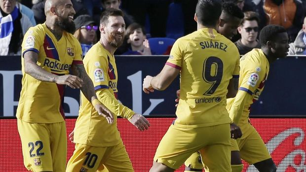 Dicadangkan di El Clasico, Vidal Tinggalkan Latihan Barcelona
