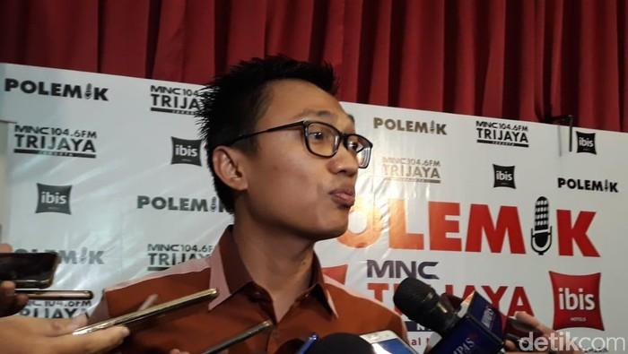 Stafsus Jokowi, Aminudin Maruf (Dwi Andayani/detikcom)