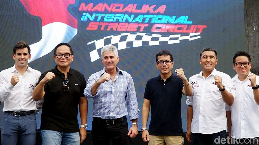Mick Doohan hingga Wishnutama Hadiri KickStart Race MotoGP Mandalika
