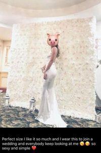 Pakai Gaun Putih Seksi di Pernikahan Teman, Wanita Ini Dihujat Norak