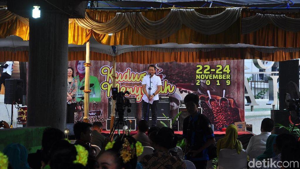 Festival Kopi Muria Digelar di Atas Jembatan Tanggulangin Kudus