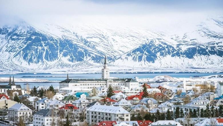 Reykjavik di Islandia. (Foto: iStock)