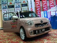 Ratusan Mobil Adu Keren di Kontes Modifikasi Daihatsu