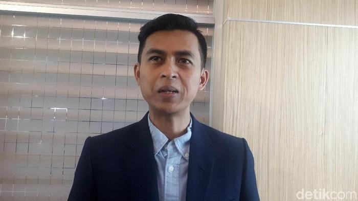 Direktur Indonesia Political Opinion Dedi Kurnia Syah Putra (Dwi Andayani/detikcom)